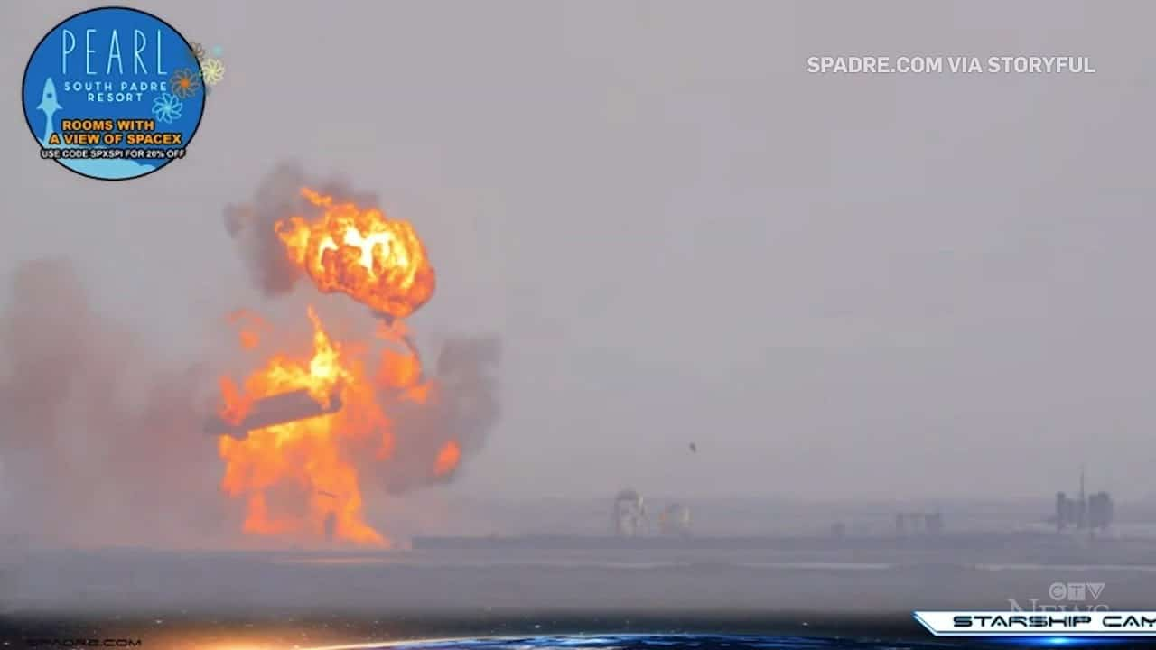 SpaceX rocket explodes minutes after successful landing 1