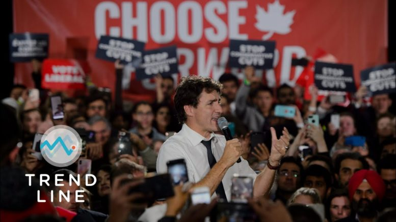 Is Prime Minister Justin Trudeau preparing for a federal election? | TREND LINE 1