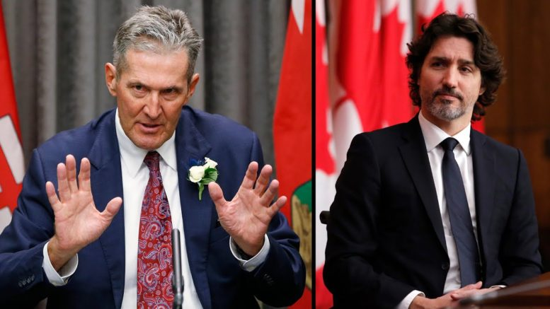"Pallister calls out Trudeau: 'Everybody else is multitasking, I think the prime minister should too"" 1"