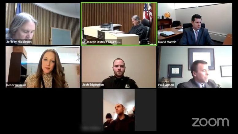 Suspect caught attending Zoom hearing from complainant's home 1