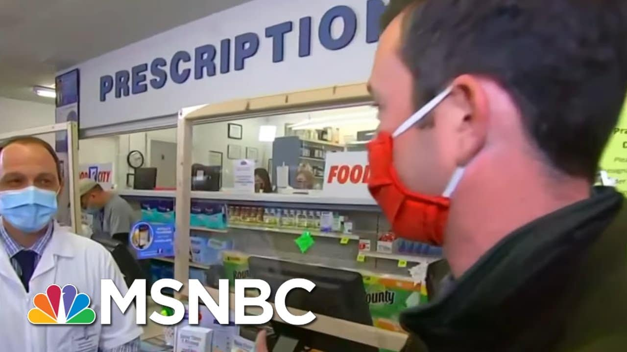 The First Johnson & Johnson Vaccines Have Been Shipped. What's Next? | Katy Tur | MSNBC 1