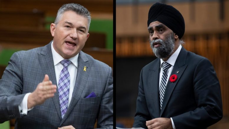Tense exchange between Defence Minister Sajjan and MP Bezan over Vance misconduct allegations 1