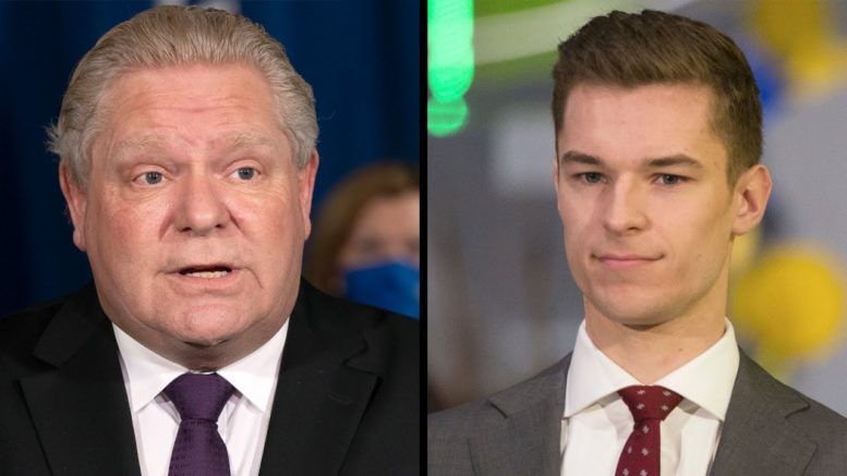 'That's just wrong': Ford calls MPP Sam Oosterhoff's ties to anti-abortion group 1