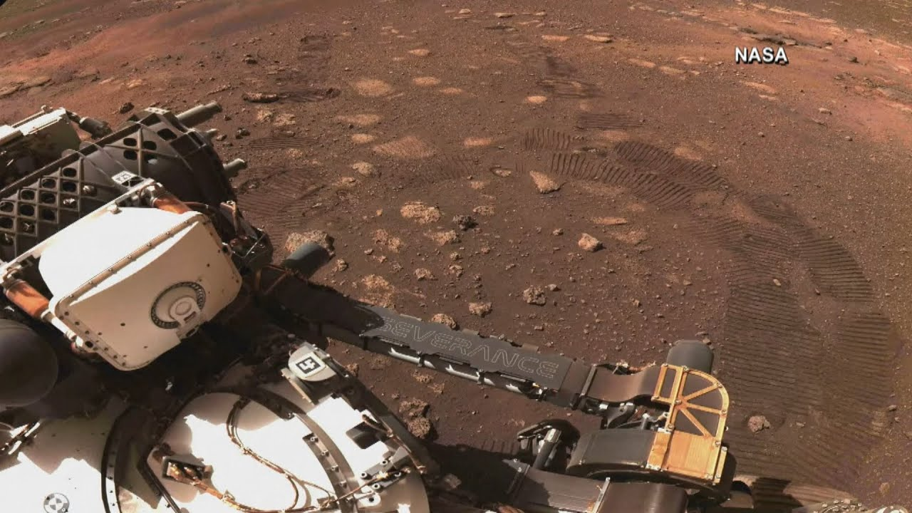 NASA releases audio of rover driving on Mars 8