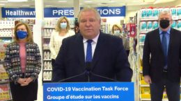 Ford: Ontario lowering age threshold for COVID-19 vaccinations to 75, expanding pharmacy rollout 9