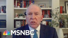 Fmr. CIA Dir. Brennan: Republicans Will 'Continue To Gaslight The Country' | Deadline | MSNBC 8