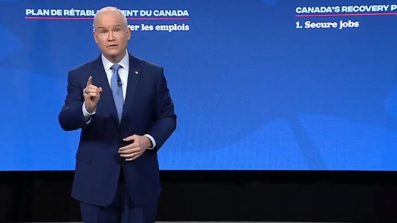 O'Toole: 'Canada is at a crossroads'   FULL speech at Conservative policy convention 1