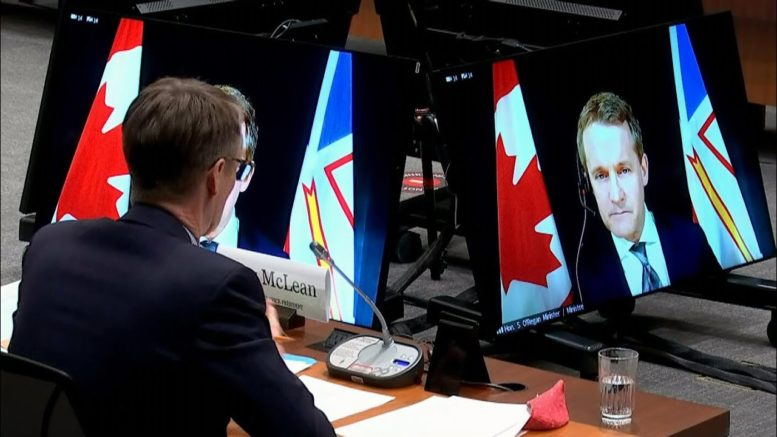 O'Regan's question about climate change infuriates Conservatives at committee | Convention fallout? 1