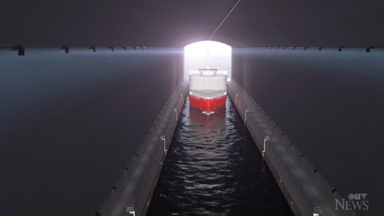 World's first ship tunnel to be built in Norway 1