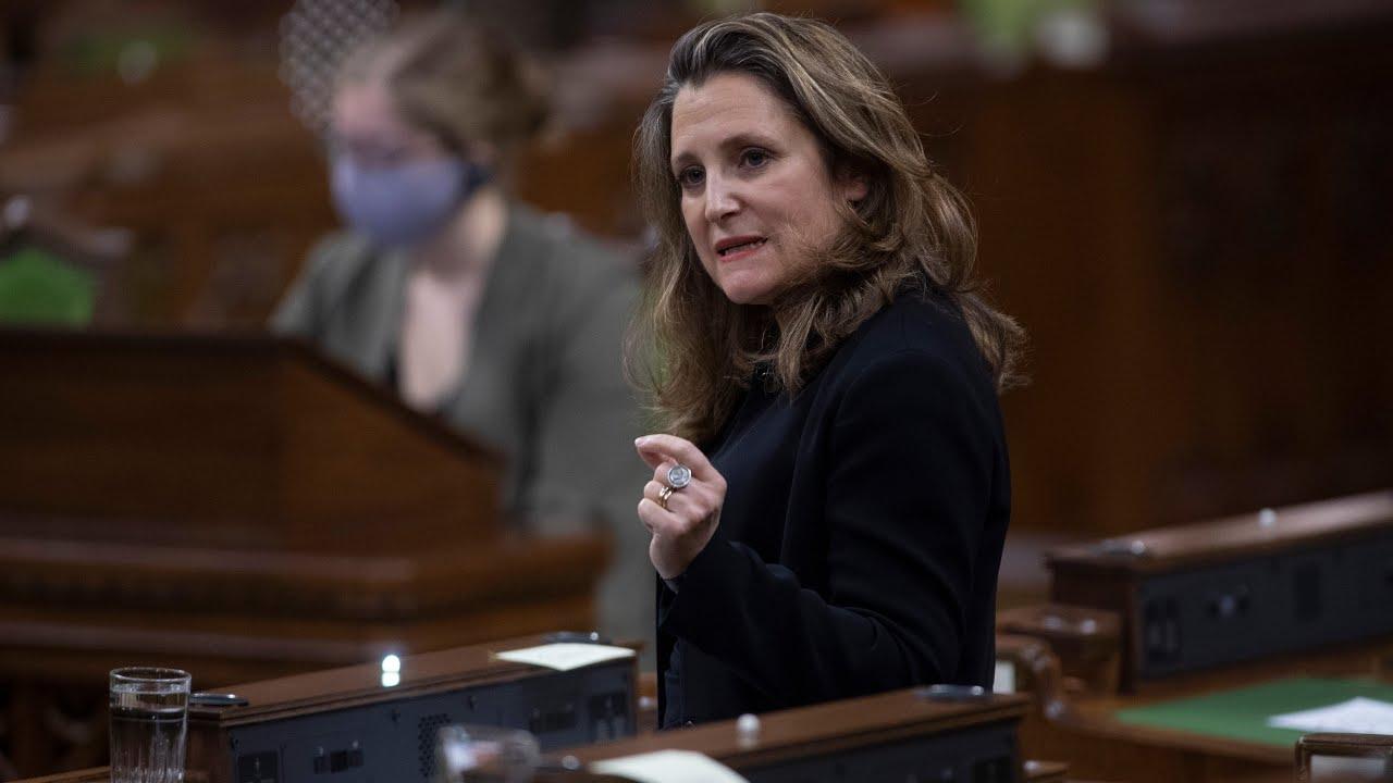 Ottawa will unveil first budget since 2019 on April 19 7