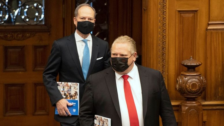Ontario unveils budget aimed at pandemic recovery, projects $33.1B deficit in 2021-22 1