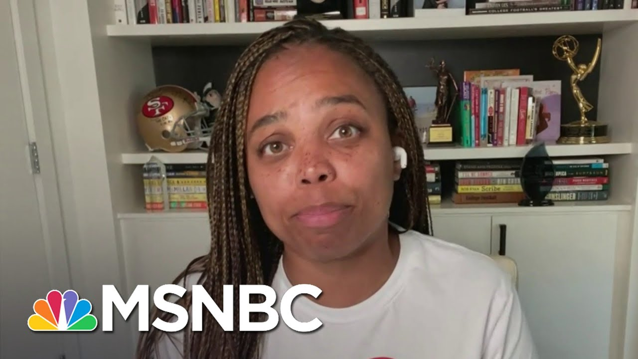 Jemele Hill: 'Staying Quiet Isn't An Option Anymore For Professional Athletes'   Deadline   MSNBC 1