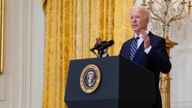Watch U.S. President Joe Biden's first formal press conference 6