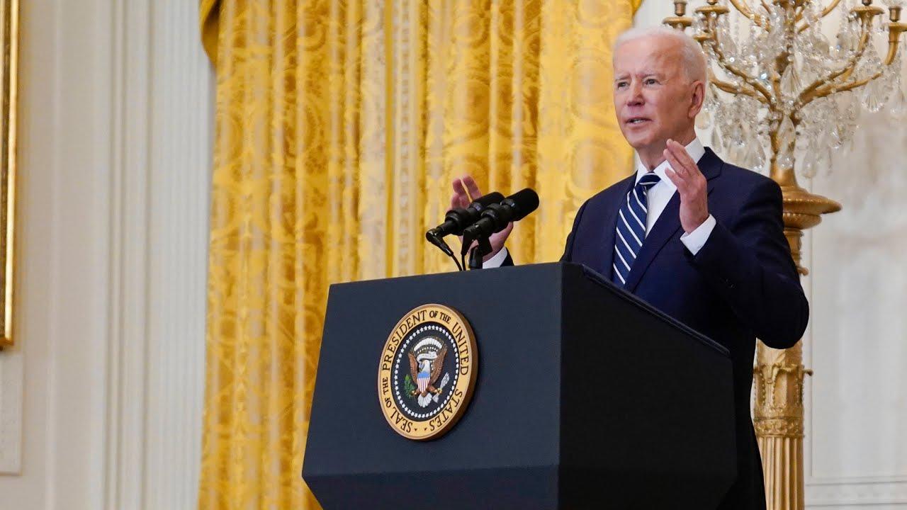 Watch U.S. President Joe Biden's first formal press conference 8