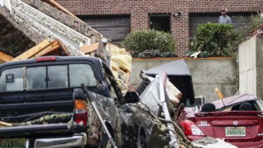 More than 20 tornadoes reported in the southern U.S. 6