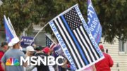 Police Find Many MAGA Fans Don't Think 'Blue Lives Matter' | The Beat With Ari Melber | MSNBC 4