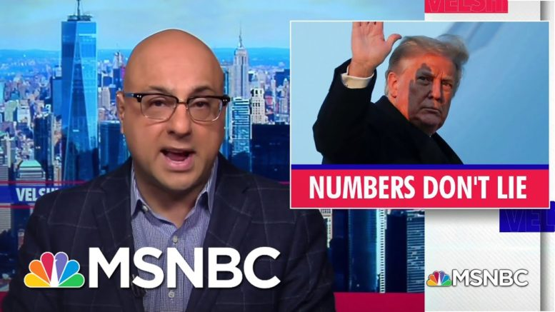 Ali Velshi Breaks Down Four Years Of The Trump Administration By The Numbers | MSNBC 1