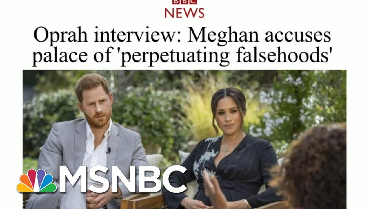 Meghan And Harry Tell-All In Shocking Interview With Oprah | Morning Joe | MSNBC 8