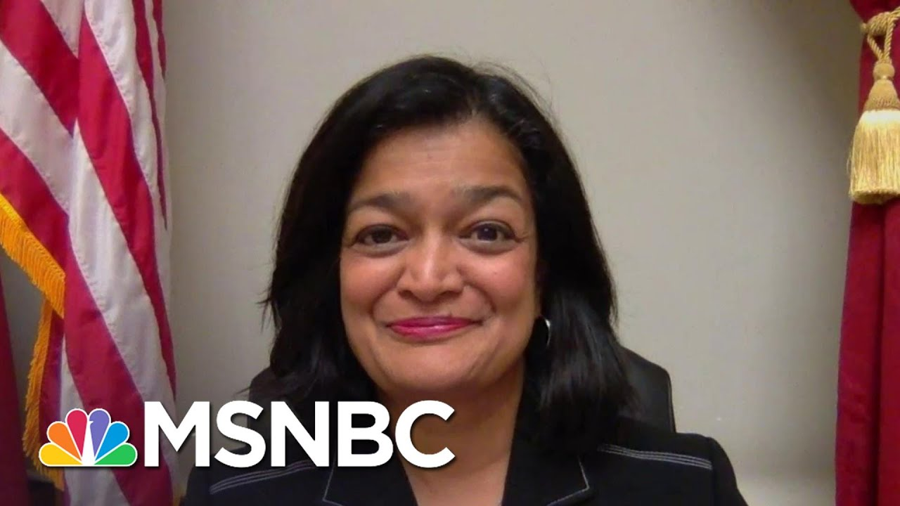 Jayapal: '1.3 Million Would Be Lifted Out Of Poverty' If We Increased The Minimum Wage | The ReidOut 1