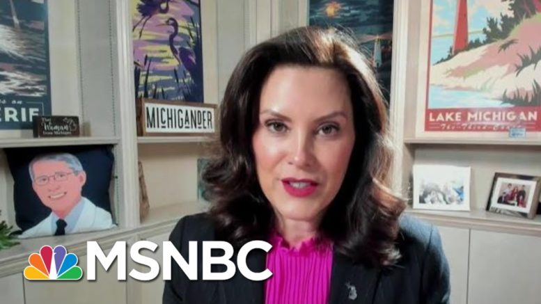 Gov. Whitmer: 'Now Is No Time To Spike The Football, We're Not Done Yet' | Stephanie Ruhle | MSNBC 1