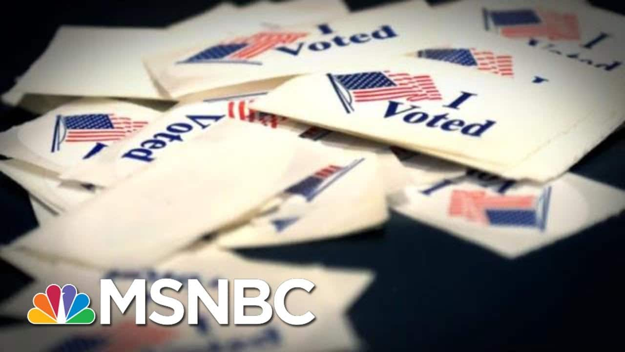GOP Accused Of Targeting People Of Color With Voter Suppression | The 11th Hour | MSNBC 8