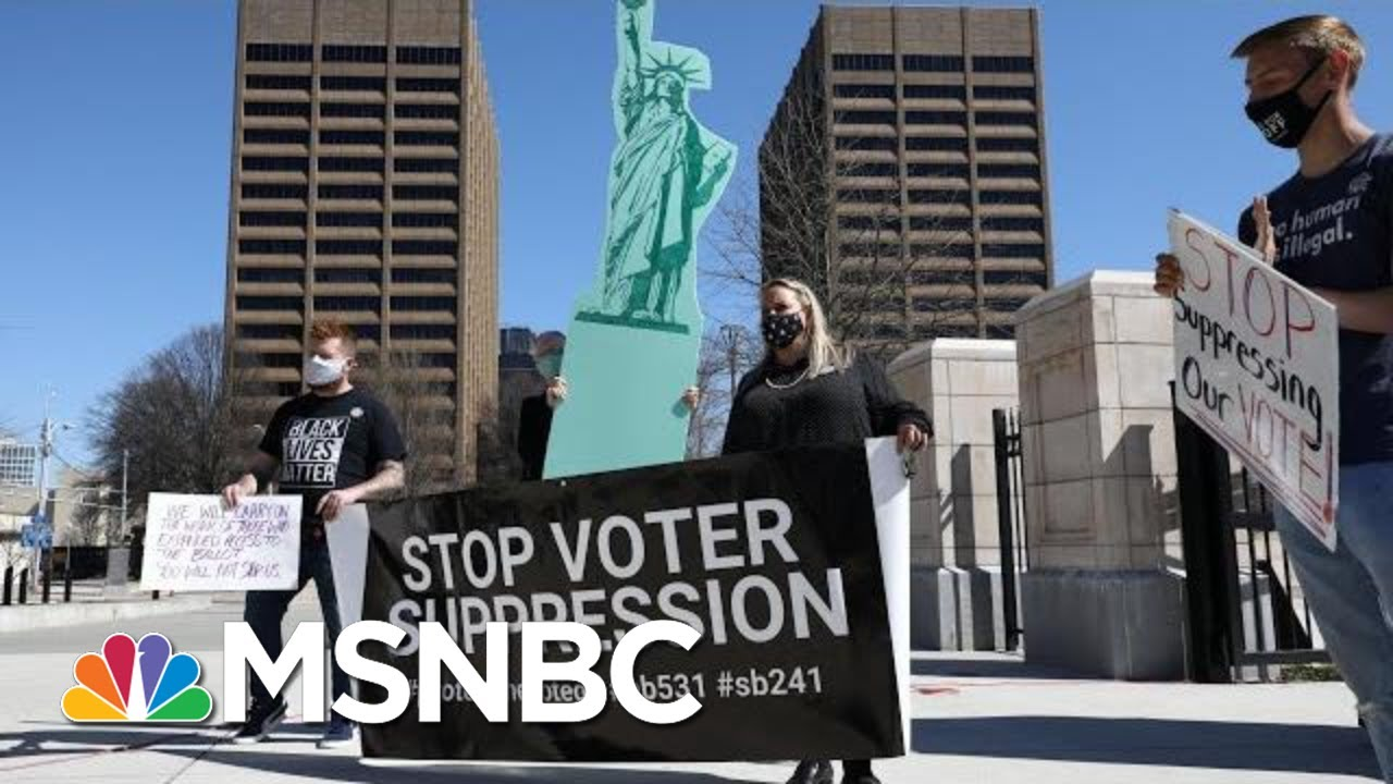 'Pay Attention To This': GOP Voter Suppression Effort Unprecedented Since Jim Crow   Rachel Maddow 6