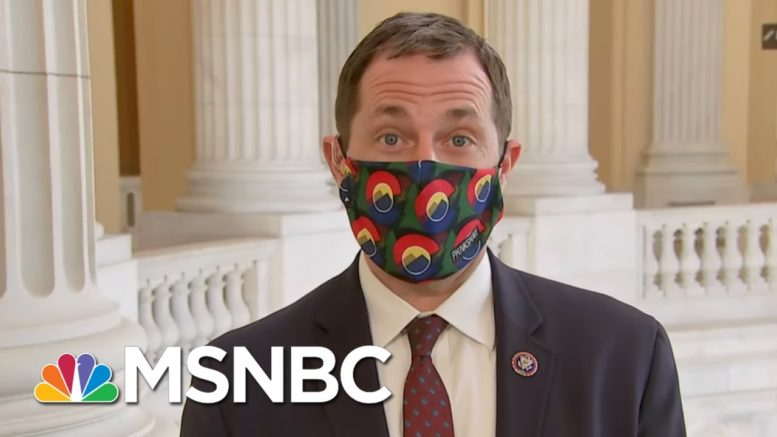 Rep. Jason Crow: 'I'm Not Going To Work With Folks And Normalize That Behavior' | Deadline | MSNBC 1