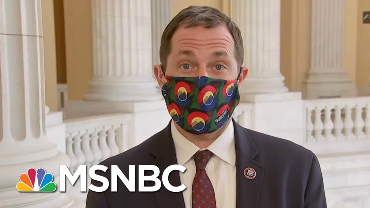 Rep. Jason Crow: 'I'm Not Going To Work With Folks And Normalize That Behavior' | Deadline | MSNBC 5