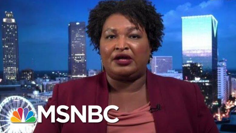 Abrams Calls On Congress To Pass Voting Rights Bills | Rachel Maddow | MSNBC 1