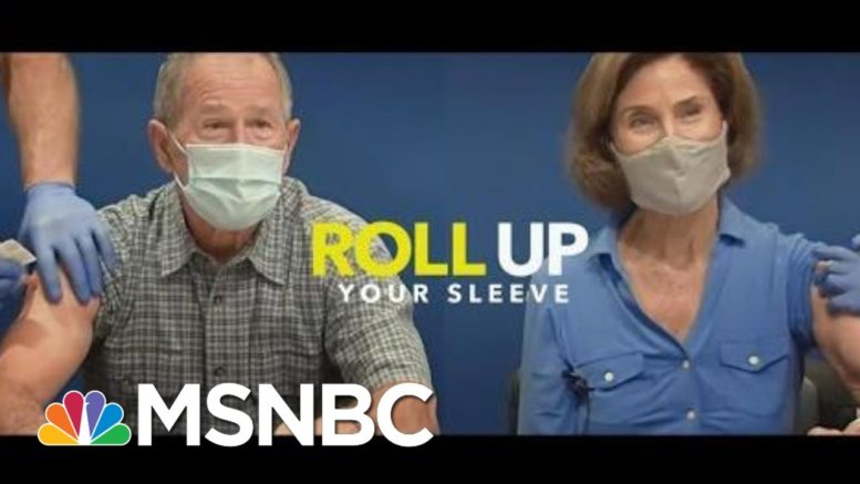 Former Presidents Come Together To Encourage Vaccinations | Morning Joe | MSNBC 1