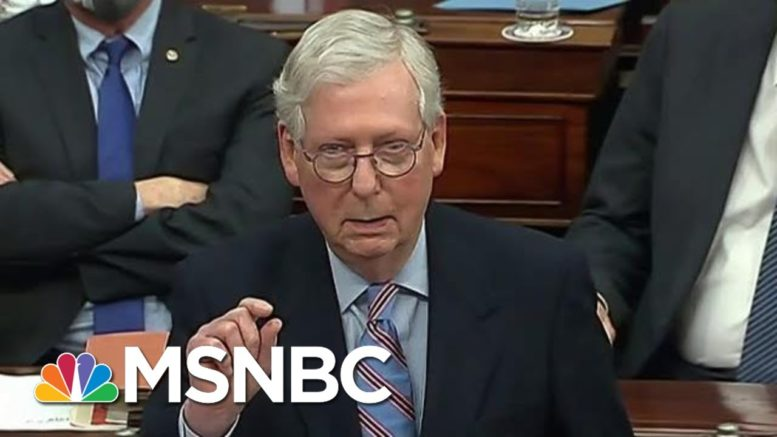Sen. McConnell Privately Boasts That GOP Fundraising Efforts Bigger Than Trump's: NYT | Morning Joe 1