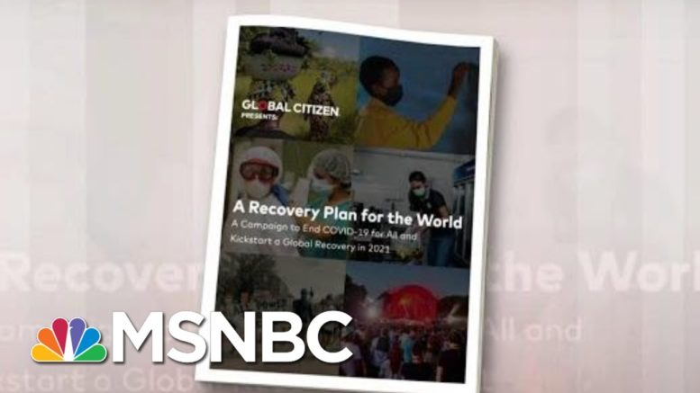 Global Citizen's Push To Help End The Pandemic | Morning Joe | MSNBC 1