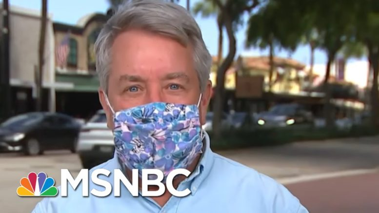 Florida vs. California: How Two States Tackled Covid-19 | MTP Daily | MSNBC 1