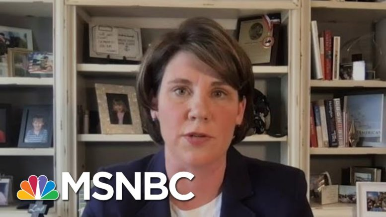 Amy McGrath On Women In The Military: 'We Are Not A Mockery'   Deadline   MSNBC 1