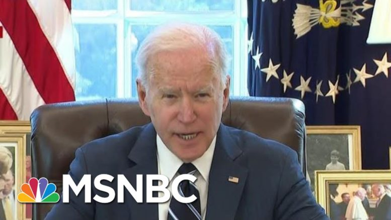 Biden Administration To Take 'Victory Lap' To Sell Covid Relief Package | The ReidOut | MSNBC 1