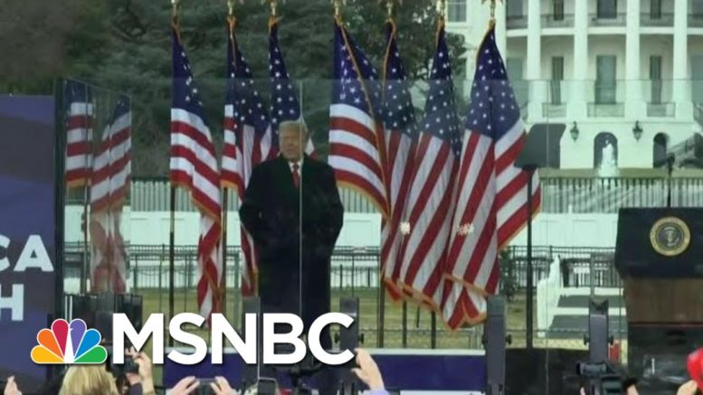 Closing In?: Trump Caught On Tape Calling January 6 'Important Date' | The Beat With Ari Melber 1