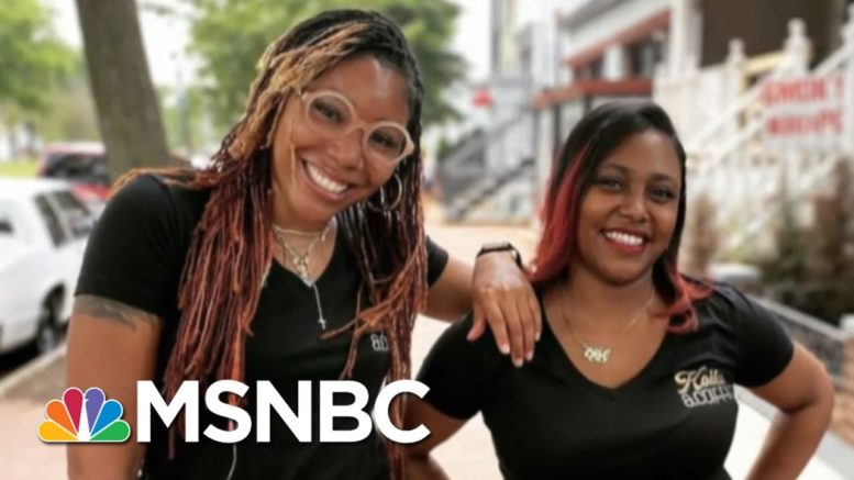 'It Wasn't A Choice': Millions Of Women Leave Workforce Due To Covid | All In | MSNBC 1