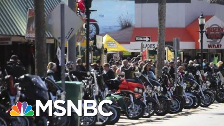 'Really Ill Advised': Fauci Laments Risks Of Florida Motorcycle Rally   Rachel Maddow   MSNBC 1