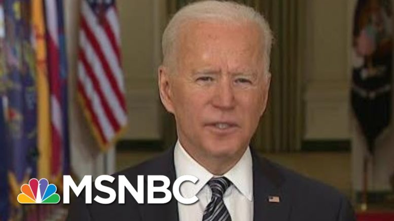 Biden Sets May Vaccine Goal, Fourth Of July For Small Gatherings | Morning Joe | MSNBC 1