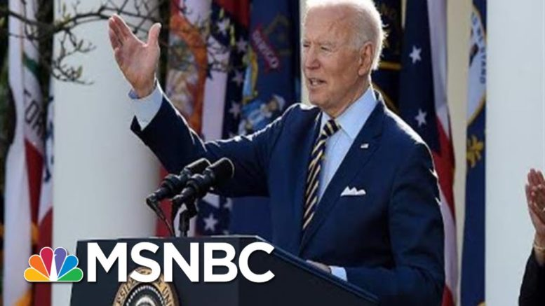 Biden: American Rescue Plan Is About Rebuilding 'The Backbone Of This Country' | MSNBC 1