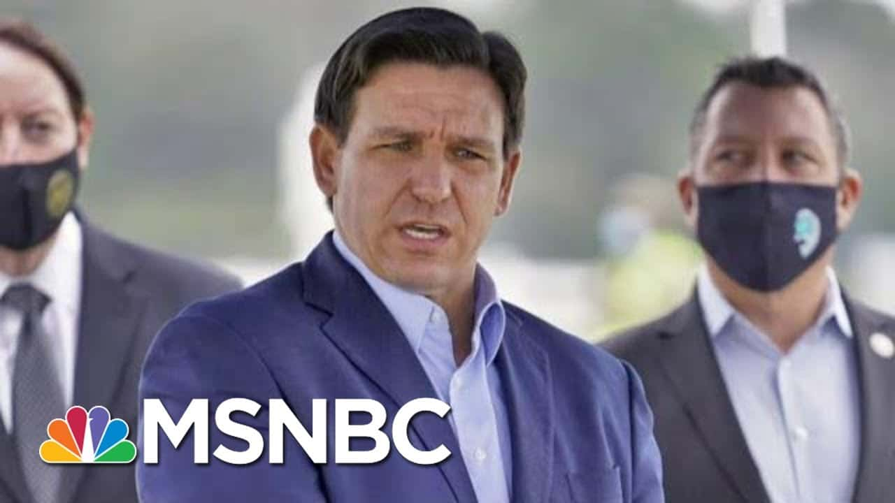 DeSantis Is Prioritizing COVID Vaccinations For 'His White Wealthy Donors' | The Last Word | MSNBC 4