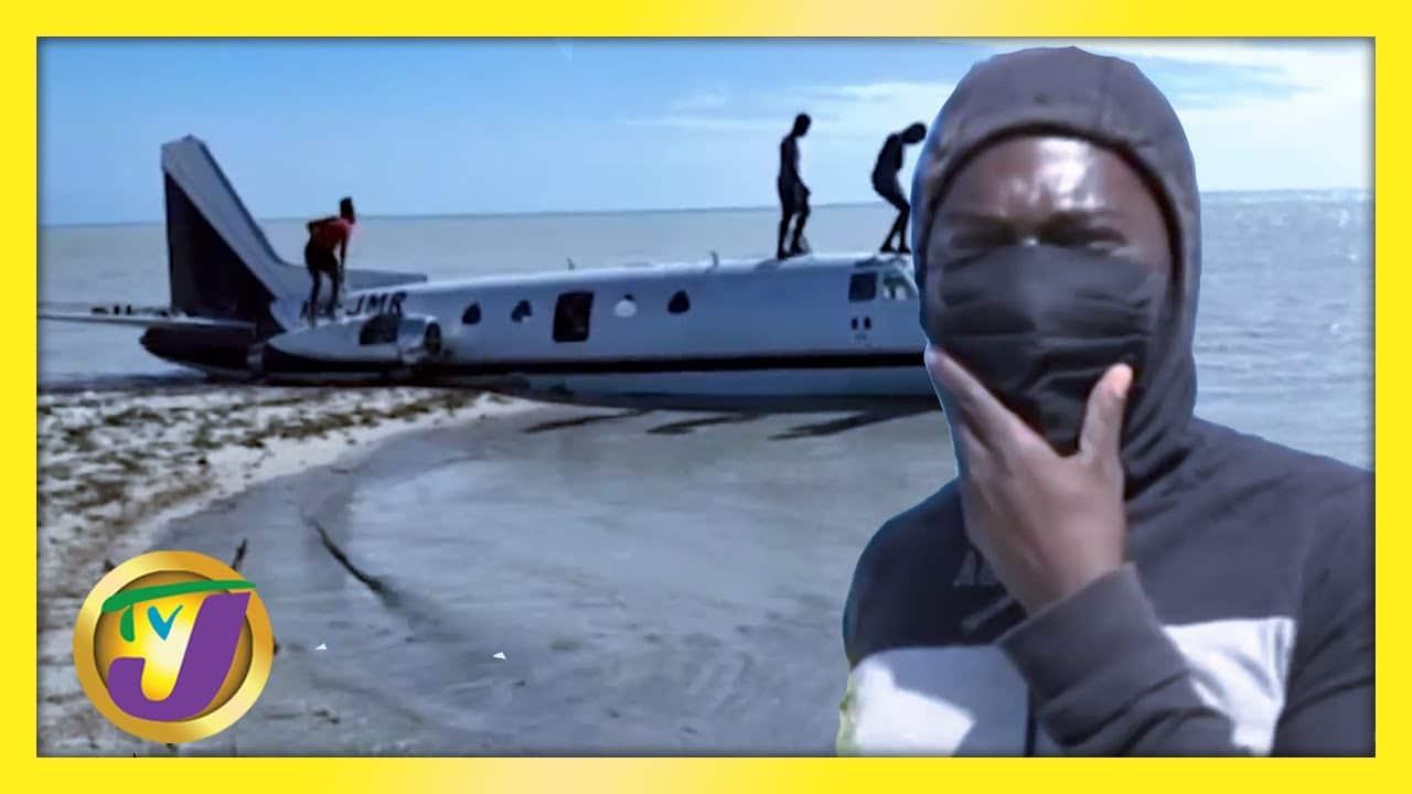 Plane Crash in Jamaica | TVJ News - February 26 2021 1