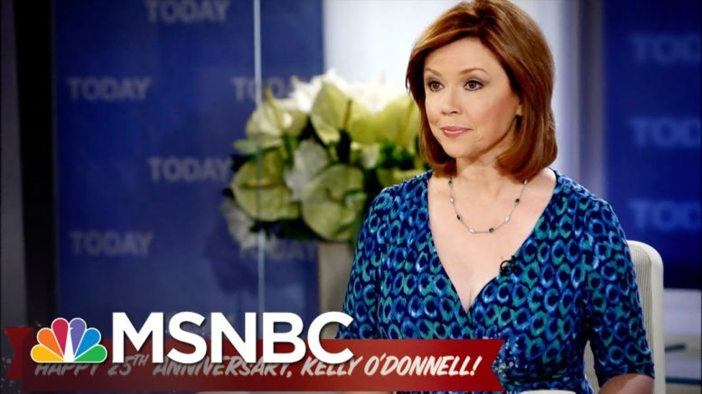 This is celebrating an O'chievement. | Kelly O'Donnell | MSNBC 1