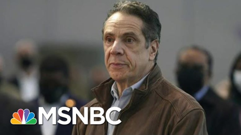 NY Vaccine Czar Called Officials To Weigh Loyalty To Gov. Cuomo: Report   Morning Joe   MSNBC 1