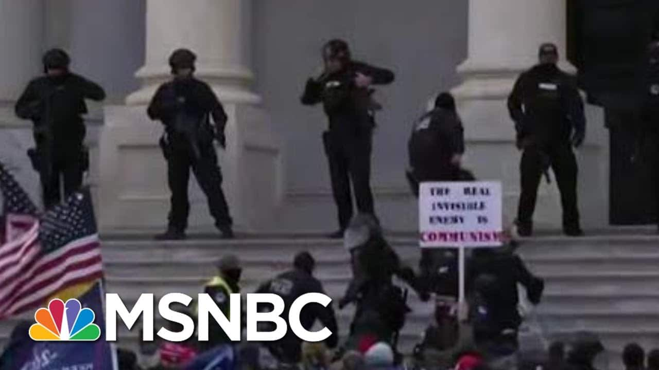 DOJ Builds Evidence Against Organizers Of Capitol Riot: State Attorney   Morning Joe   MSNBC 9