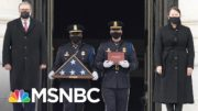 Two Men Arrested For Assaulting Capitol Police Officer Brian Sicknick | Craig Melvin | MSNBC 3