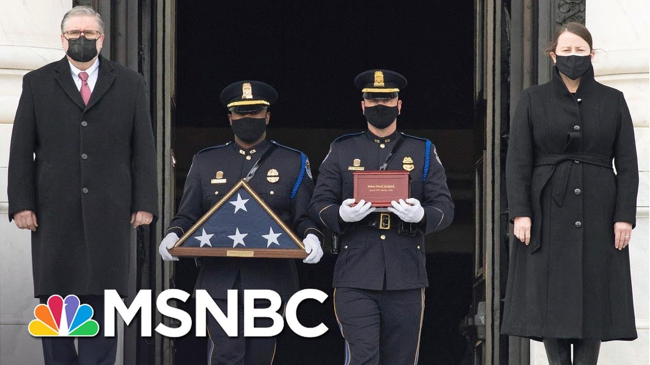 Two Men Arrested For Assaulting Capitol Police Officer Brian Sicknick | Craig Melvin | MSNBC 1