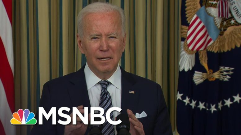 Biden Assures American Rescue Plan Will Provide Relief 'Quickly, Equitably And Efficiently' | MSNBC 1