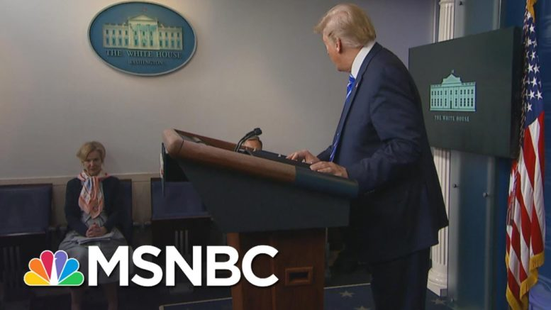 Birx: I Think About Trump 'Inject Disinfectant' Moment Every Day | The 11th Hour | MSNBC 1