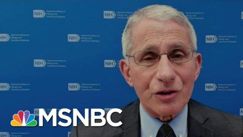 Dr. Fauci: If We Declare Victory Too Soon, We Can Risk A Surge | Morning Joe | MSNBC 1